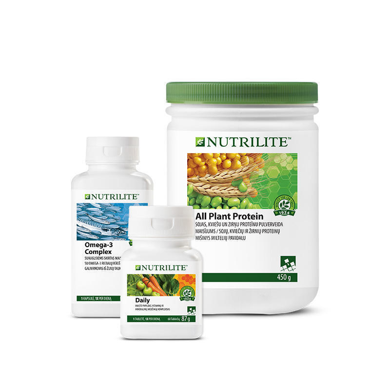 Foundational Trio rinkinys su NUTRILITE™ Daily (280937)